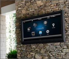 home automation controls on tv