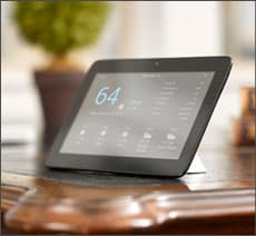 smart home technology tablet control