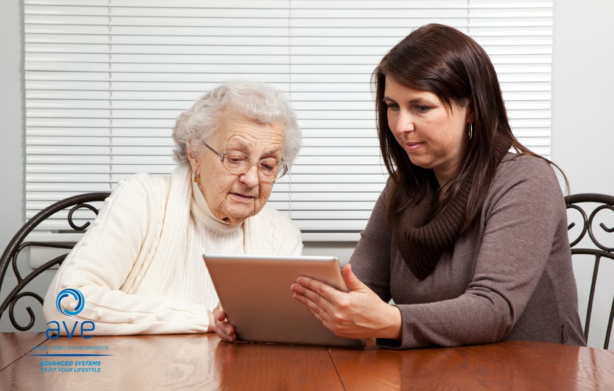 home automation for easy senior living