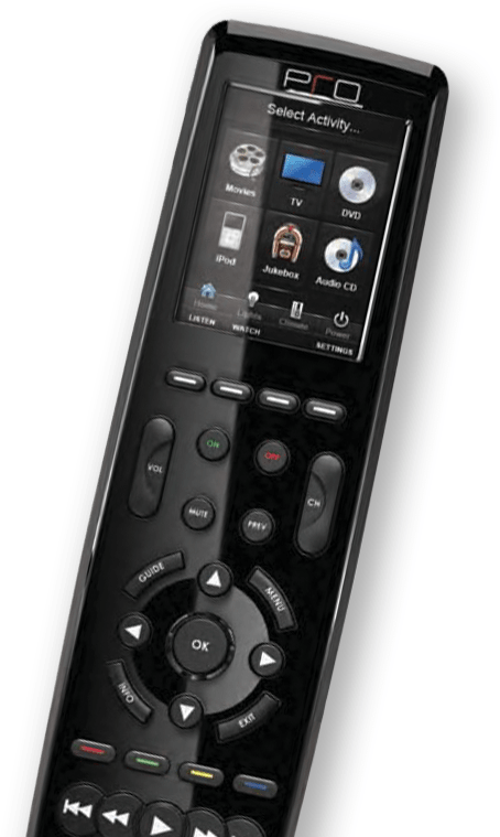 universal remote control graphic